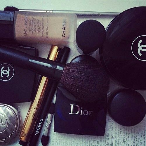 #makeup #chanel #dior