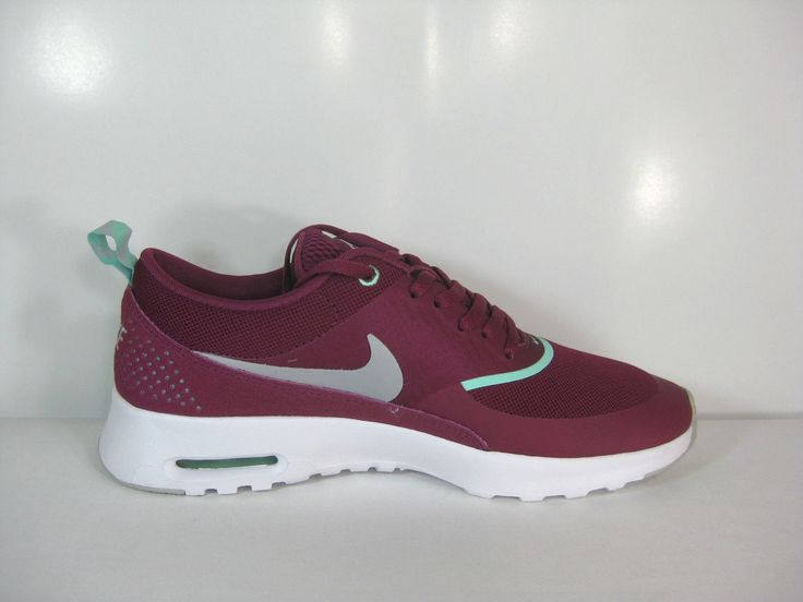 Nike Air Max Thea Femme Baskets Basses Rouge Framboise