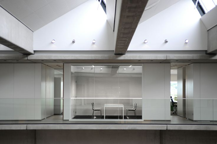 Office Design for Willy Naessens by Buro Project