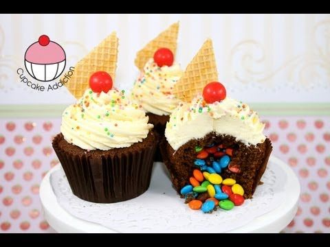 Tutorial: Surprise Pinata Cupcakes! • CakeJournal.com