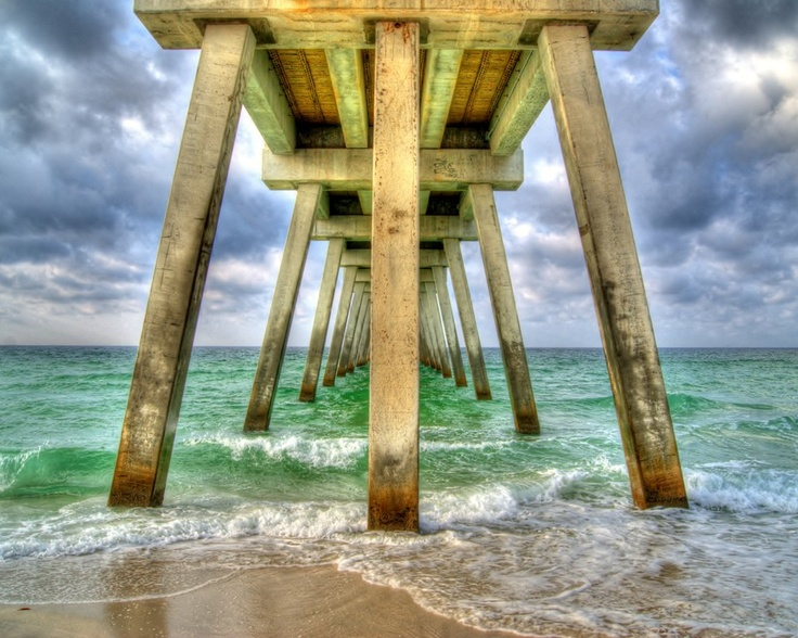 14 best navarre beach here we come images on pinterest for Navarre beach fishing pier