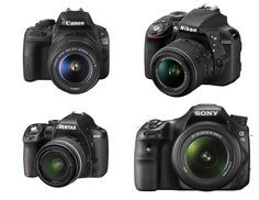 Camera Review: A Buyers Guide to Entry-Level DSLR's | Looking to buy your first Digital SLR Camera? In this camera review A Buyers Guide to Entry-Level DSLR's +Geoff Harris looks at the 4 best entry level DSLR Cameras