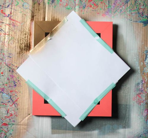 Painting Frames: A Learning Process - 52 Weeks Project