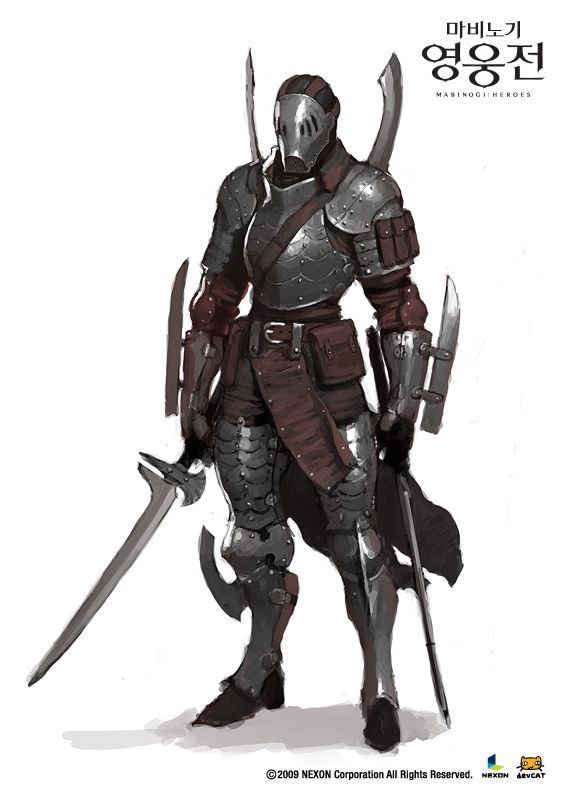 마비노기 영웅전 컨셉아트 (5) : 네이버 블로그