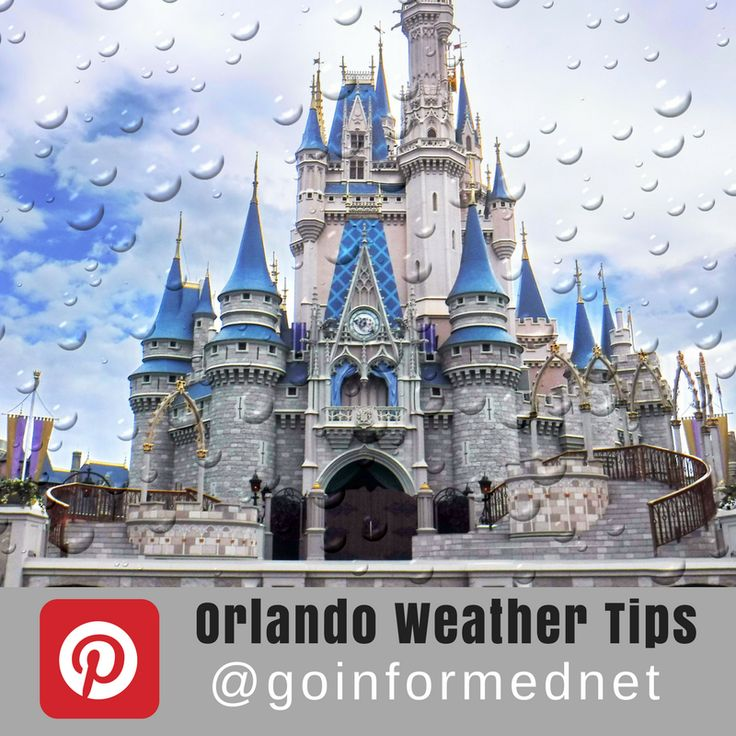 Find loads of tips for coping with Orlando's extreme weather on the @goinformednet Orlando Weather Tips Pinterest board. Weather tips for Disney World and Universal Orlando.