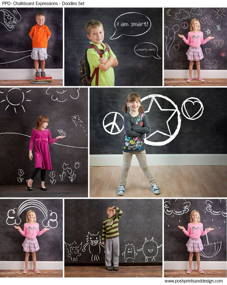 Chalkboard Expressions: Doodles