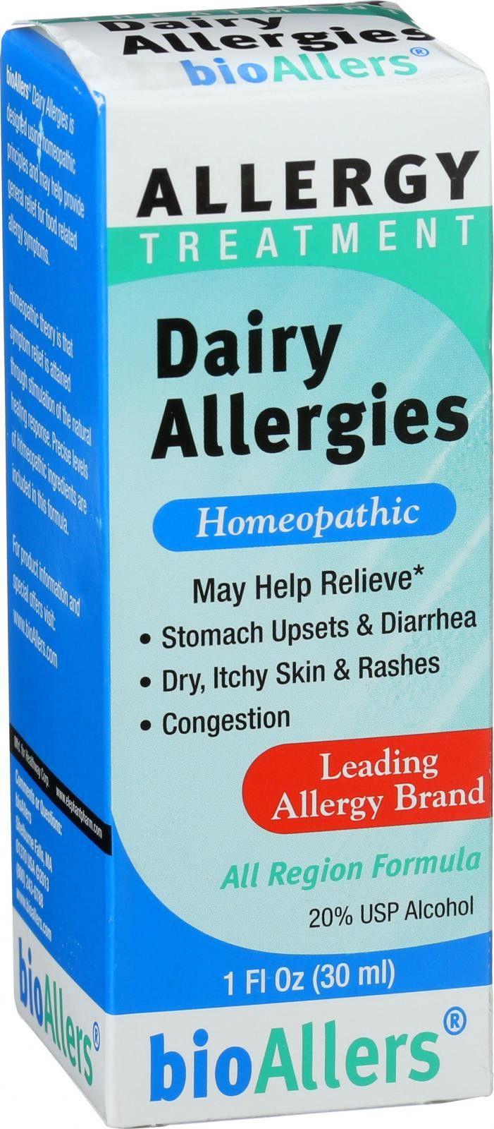 Bio-Allers Food Allergy Treatment - Dairy Allergies Unflavored - 1 oz