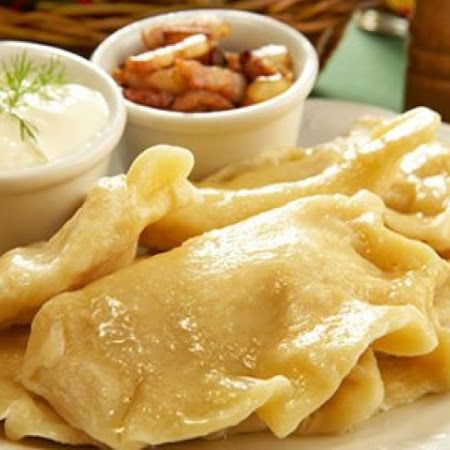 Potato and Onion Pierogi ( Robert Irvine)