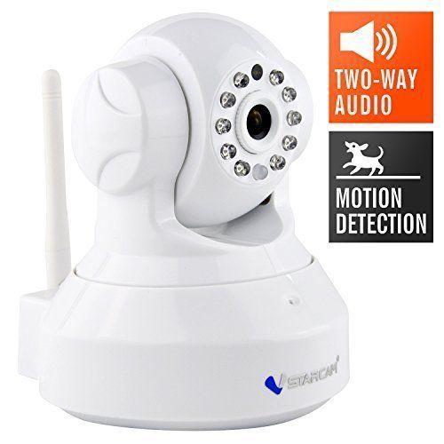 Baby Monitor Wireless IP Home Security Camera Night Vision 720P HD Surveillance #BabyMonitorWirelessIP