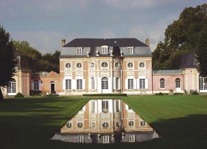 Château de Bagatelle  Jacques-Francois Blondel, 1751-1754  Abbeville, Picardy, France - Beautiful