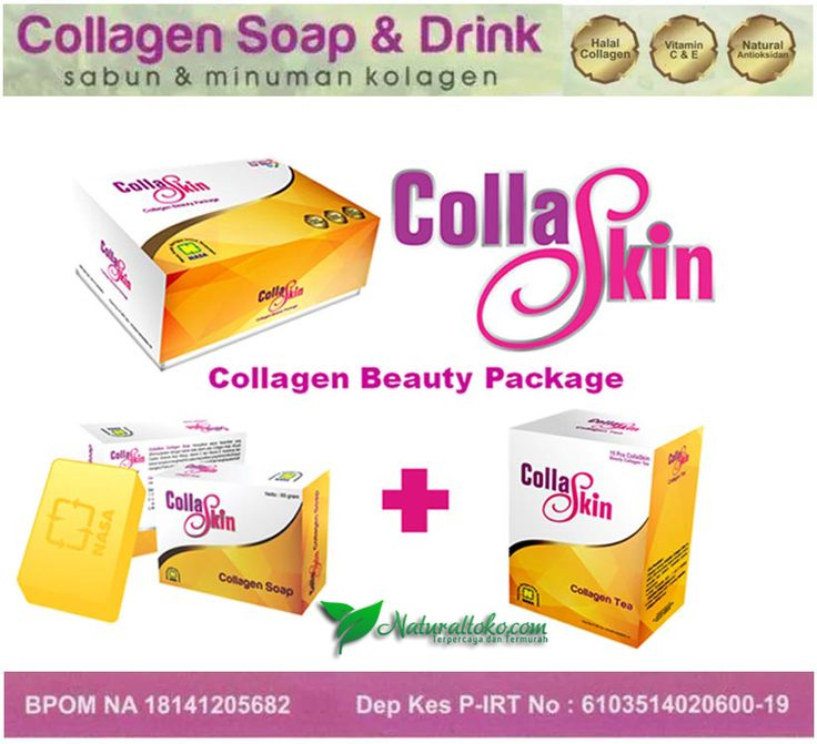 Jual Collaskin Collagen Beauty Murah, Pemutih Kulit Alami