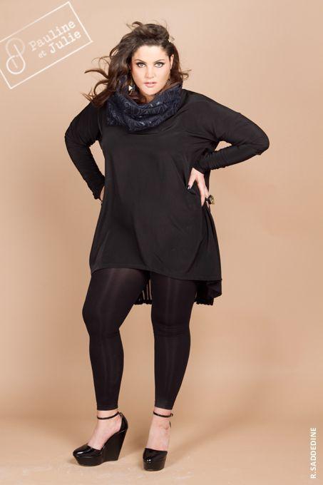 La Mode, les femmes rondes,Pauline et Julie, Vêtement créateur grande taille  du 96357d8c5f7d
