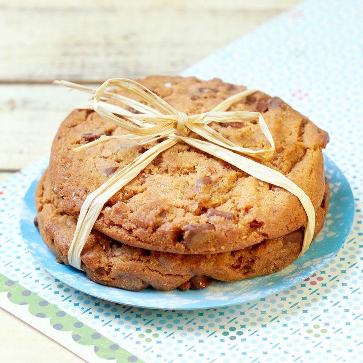 Découvrez la recette des cookies à la nougatine