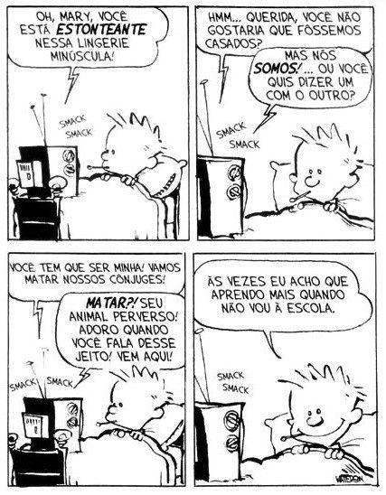 Calvin e Haroldo - Tirinha Nº 22