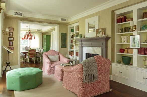 20 Cozy Set Up 2 Chairs In Front Of A Fireplace Interior Design Interior Living Room Bookcase