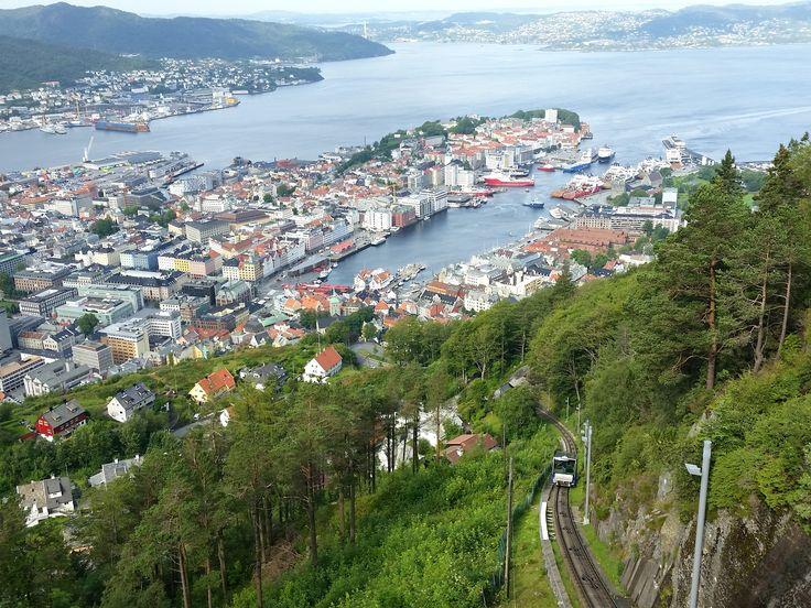 Bergen. Norgevia. agosto 2015