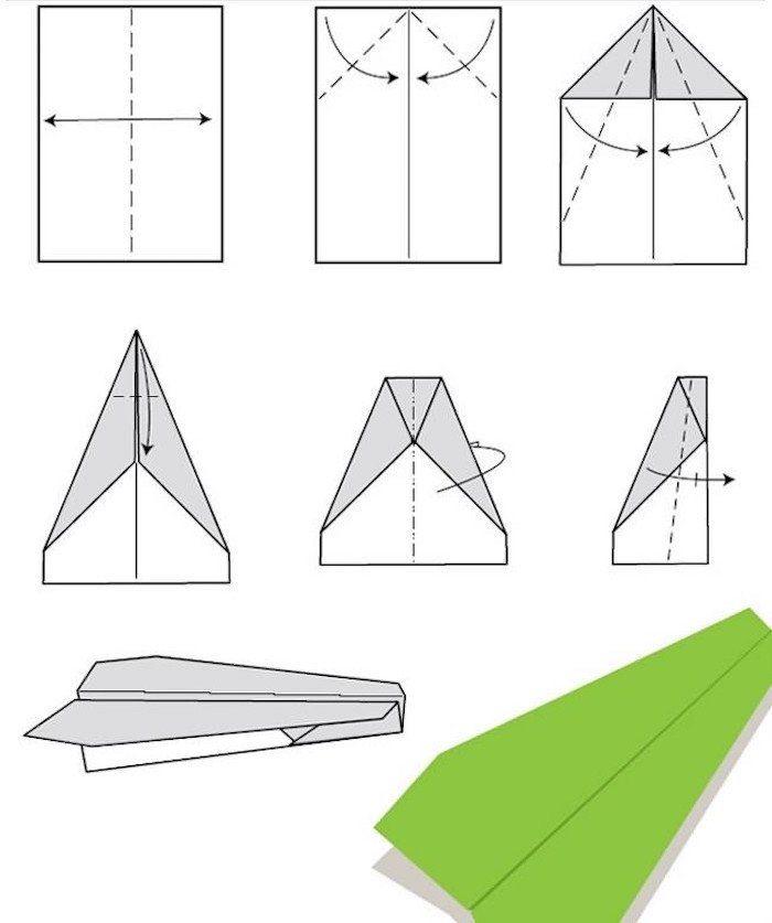 Pin On Faire Un Avion En Papier