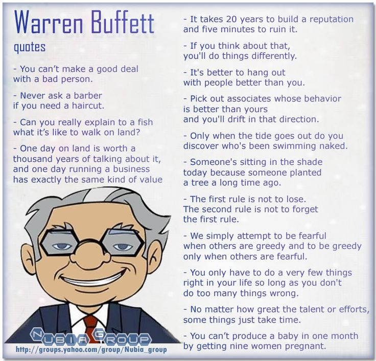 Famous Quotes By Warren Buffett. QuotesGram by @quotesgram