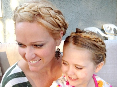 As a former hippie it is all about braids   for me!