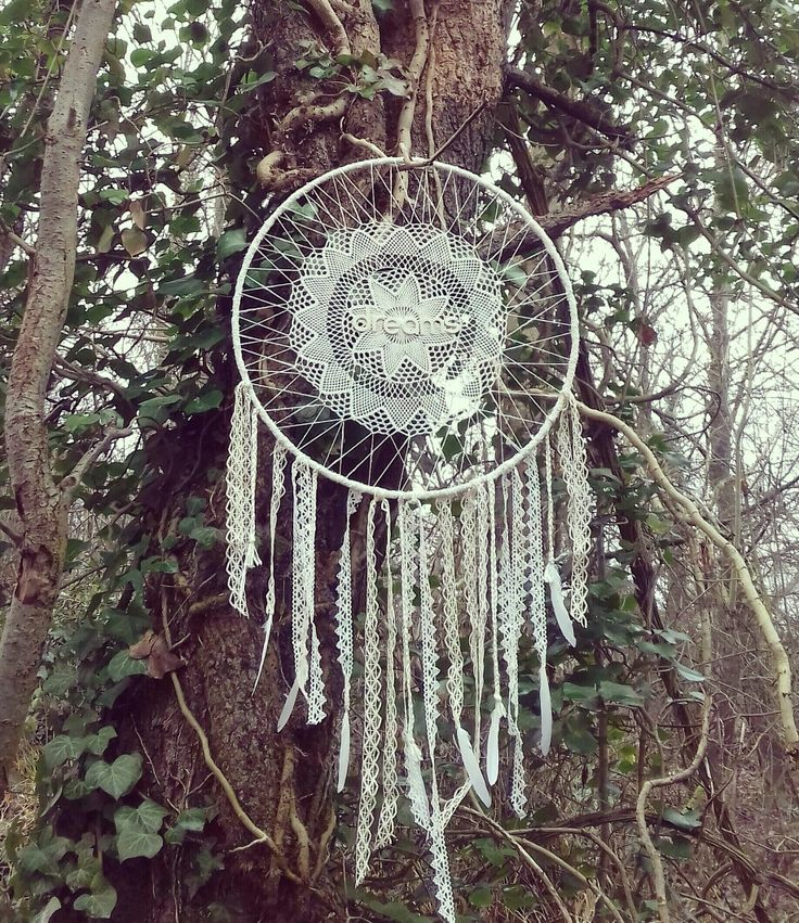 Giant dreamcatcher, attrape rêves géant. Made in France