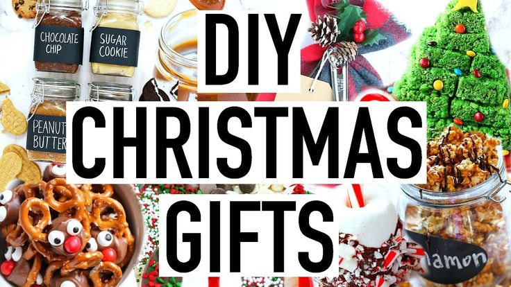 DIY Christmas Gift Ideas! 25 DIY Holiday Gifts That Are Edible!