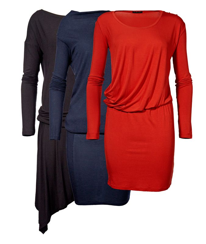 Sisley-trikoomekkoja, 15–20 €. Useita malleja ja värejä. Norm. 47,95–59,95 €. UNITED COLORS OF BENETTON, 1. KRS