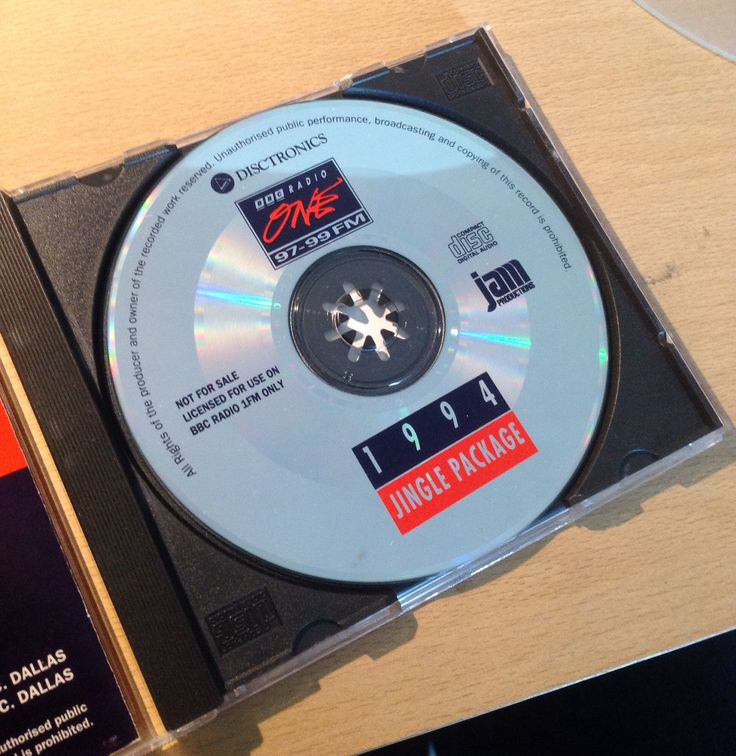 The Radio 1 Jingle Package CD (1994)