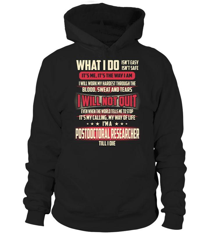 Postdoctoral Researcher - What I Do #PostdoctoralResearcher