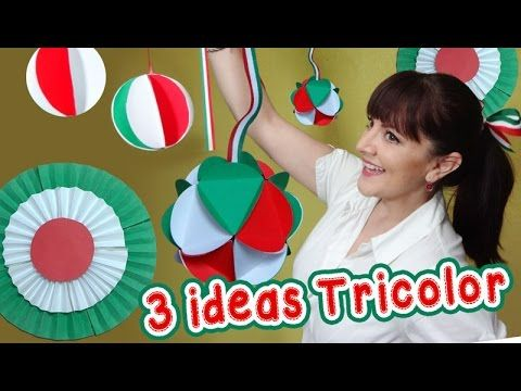 3 Ideas Tricolor Decorativas estilo Mexicano :: Chuladas Creativas :: Es...