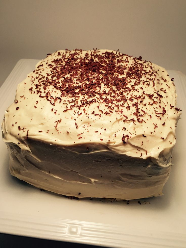 Dark Chocolate Guinness Cake with Bailey's Cream Cheese Icing - Bacon Bits