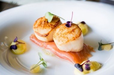 Pretty Plate Presentation For Scallops Entree S And Sides Chic Food And Eats Pinterest