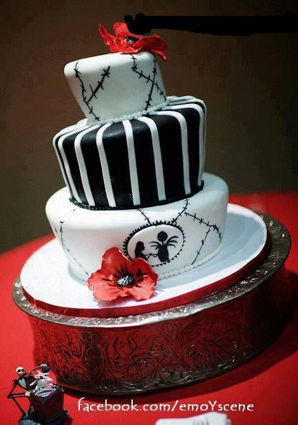 Emo Cake Emo Ideas Pinterest Emo Birthdays And