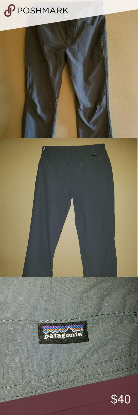 Patagonia Lightweight Pants Gray lightweight Patagonia Pants. Size 2. Great condition. Patagonia Pants Track Pants & Joggers