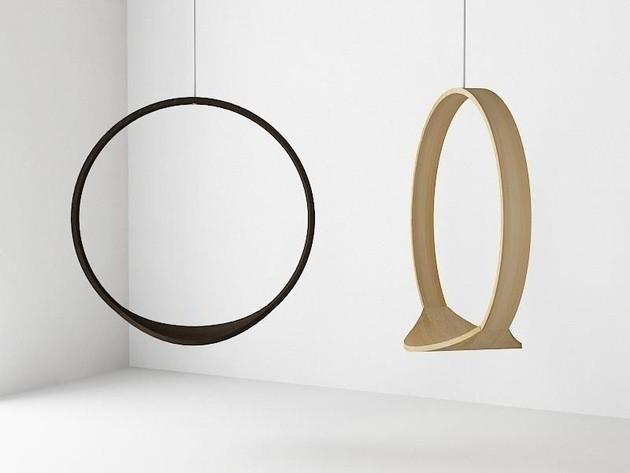 Swing der o f rmige holzh ngesessel home item project for Design tisch taschenrechner