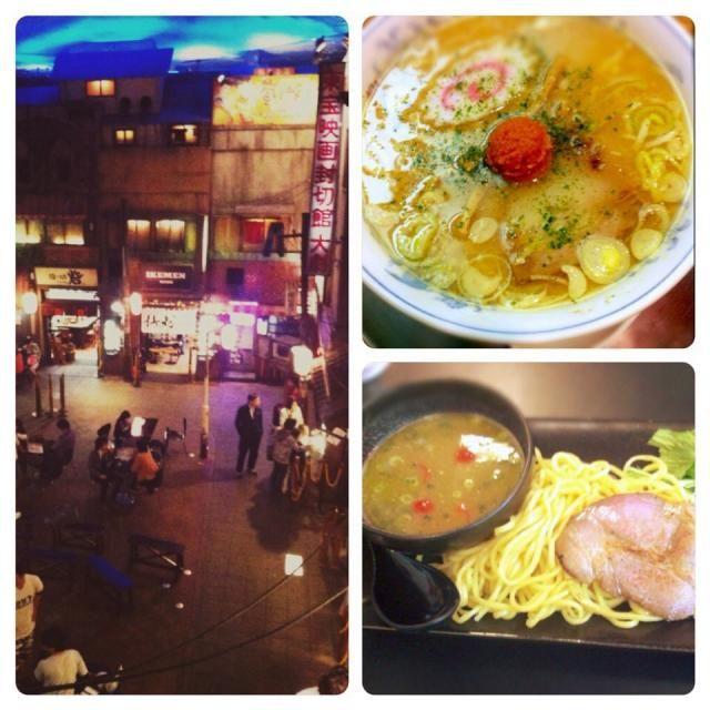 新横浜で新幹線に乗る前に、 ラーメン食べる、二杯食べる  一杯目、龍上海本店(山形県赤湯)の赤湯からみそラーメン。これ、クセになりそう❗️  二杯目、IKEMEN HOLLYWOOD(LA / U.S.A.)のジョニーデップ(バジル味)。ん〜っと、アメリカンな感じ?!  個人的には一杯目の方が好き - 82件のもぐもぐ - ミニラーメンはしご@横浜 by Fumi