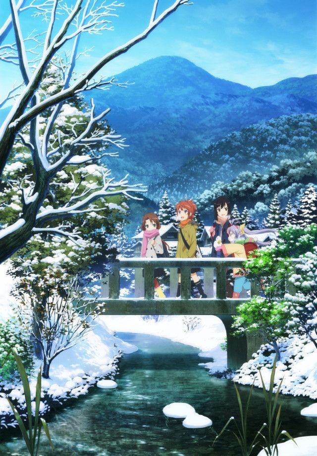 """Crunchyroll - Staff and nano.RIPE Return for """"Non Non Biyori Repeat"""""""