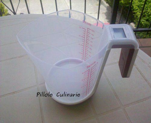 Bilancia da cucina con caraffa graduata by Groupon http://www.pilloleculinarie.it/primi-piatti/3262/penne-integrali-con-panna-funghi-e-pomodorini/