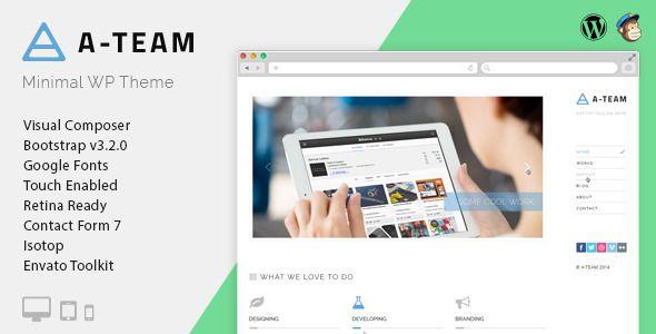 A-TEAM - Minimal Personal Blogging WordPress Theme (Blog / Magazine) Download   #article #blog #blogger #classic #clean #creative #customizable #elegant #magazine #minimal #personal #responsive #simple #social http://w7download.com/a-team-minimal-personal-blogging-wordpress-theme-blog-magazine-download