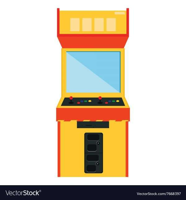 17 Arcade Machine Vector Retro Arcade Games Gaming Machine Arcade Game Machines