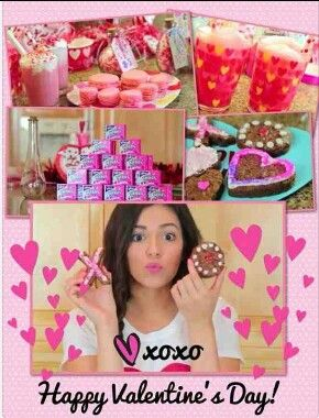 bethany mota valentine's day decorations