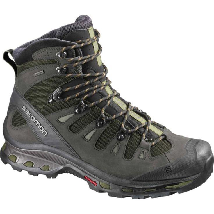 Salomon Men's Quest 4D 2 Mid Gore-TEX Hiking Boots, Size: 7.0, Green
