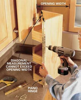 Blind Corner Cabinet Hinges Woodworking Projects Amp Plans