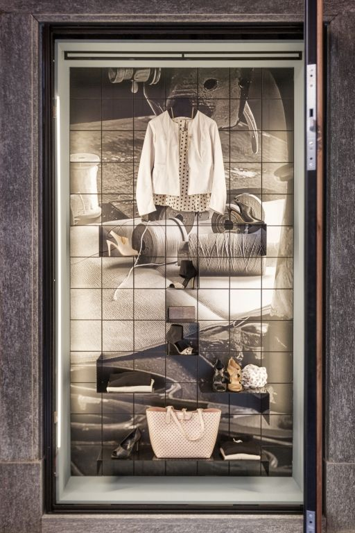 """GET STORE,Fossano,Italy, """"La Dolce Vita/Display Cabinet"""", by AMLab Creative Laboratory, pinned by Ton van der Veer"""