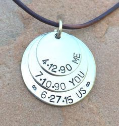 A personal favorite from my Etsy shop https://www.etsy.com/listing/464568573/mens-necklace-boyfriend-necklace-husband
