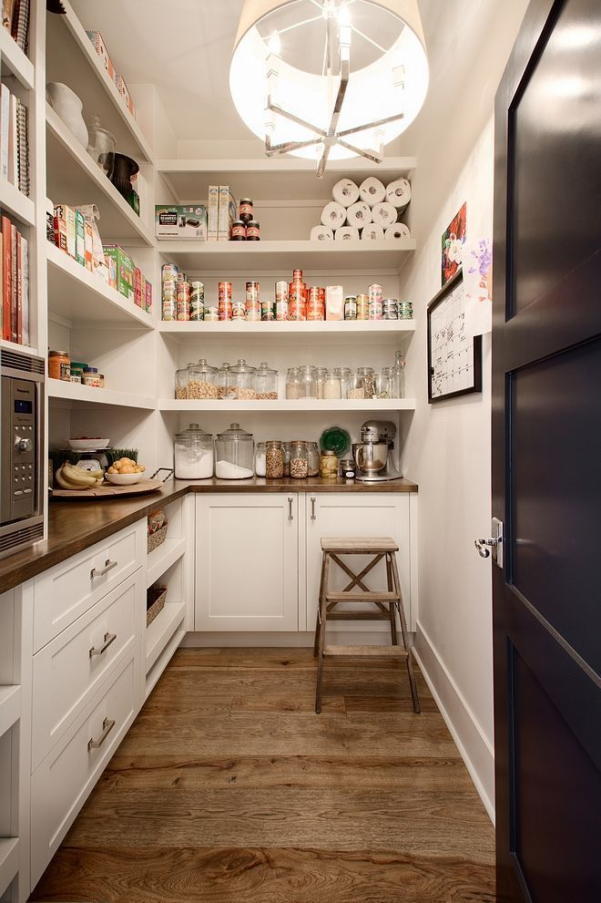 Walk In Pantry With An Outlet And Countertop I Can Leave Small
