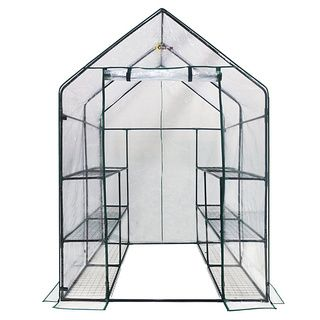 Ogrow Deluxe Walk-In 6-tier 12-shelf Portable Greenhouse $71