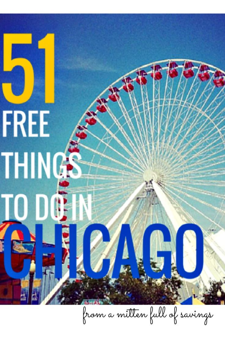 I love going to Chicago! There are so many things you can do- including FREE activities to do in Chicago. You will also find family-friendly activities to do in Chicago for FREE!  When traveling to Chicago, you can find a lot of free things to do for any season.  Check out this list of 51 FREE Things To Do In Chicago