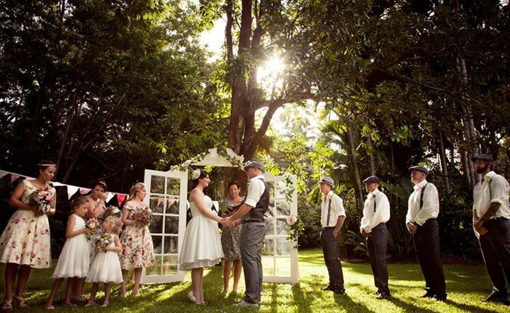 Vintage whimsical wedding decor The Vintage Hire Company Cairns