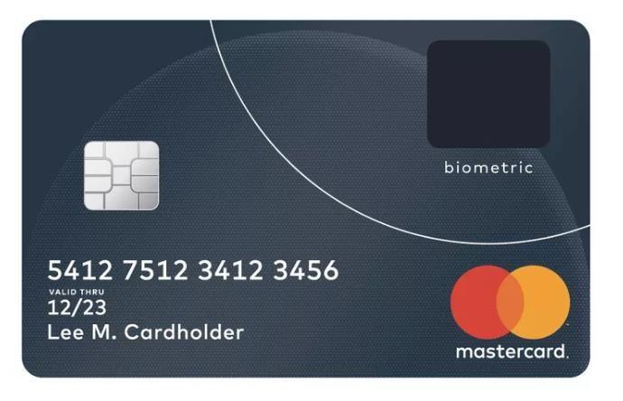 #Seguridad #Tarjeta Tarjetas de crédito con lector de huella digital