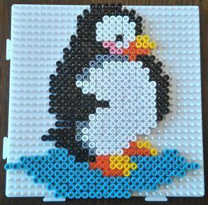 hama pingviner